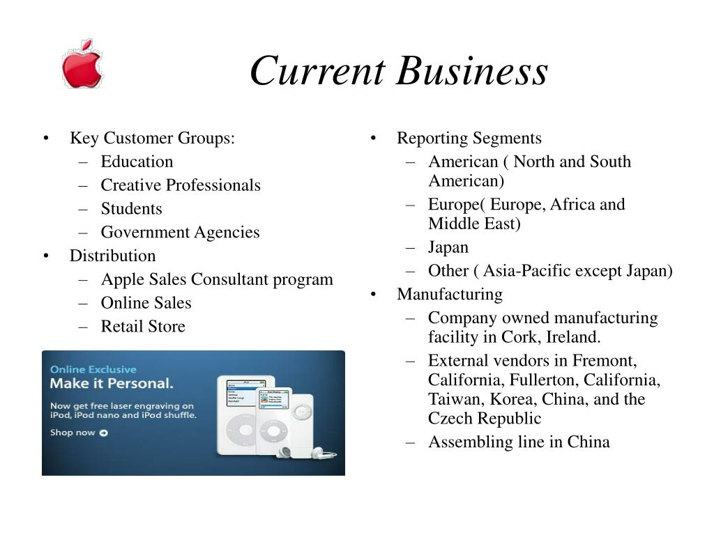 Key Customer Groups: