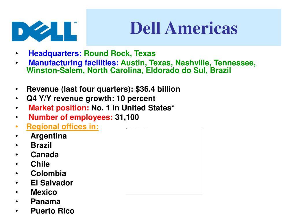 Dell Americas