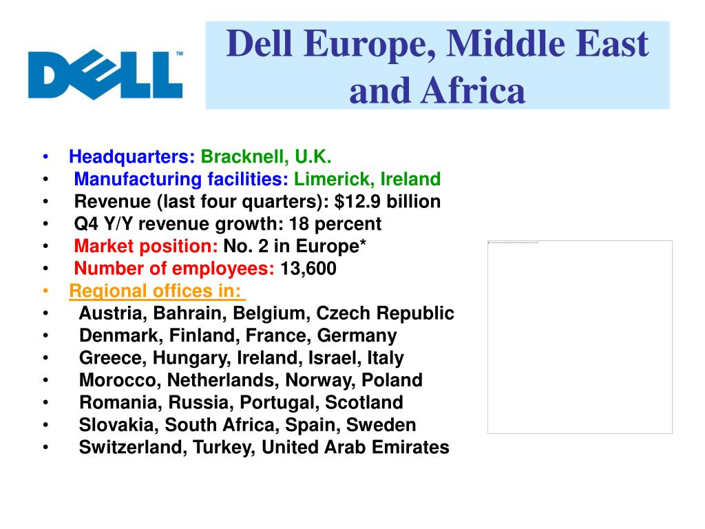 Dell Europe, Middle East and Africa