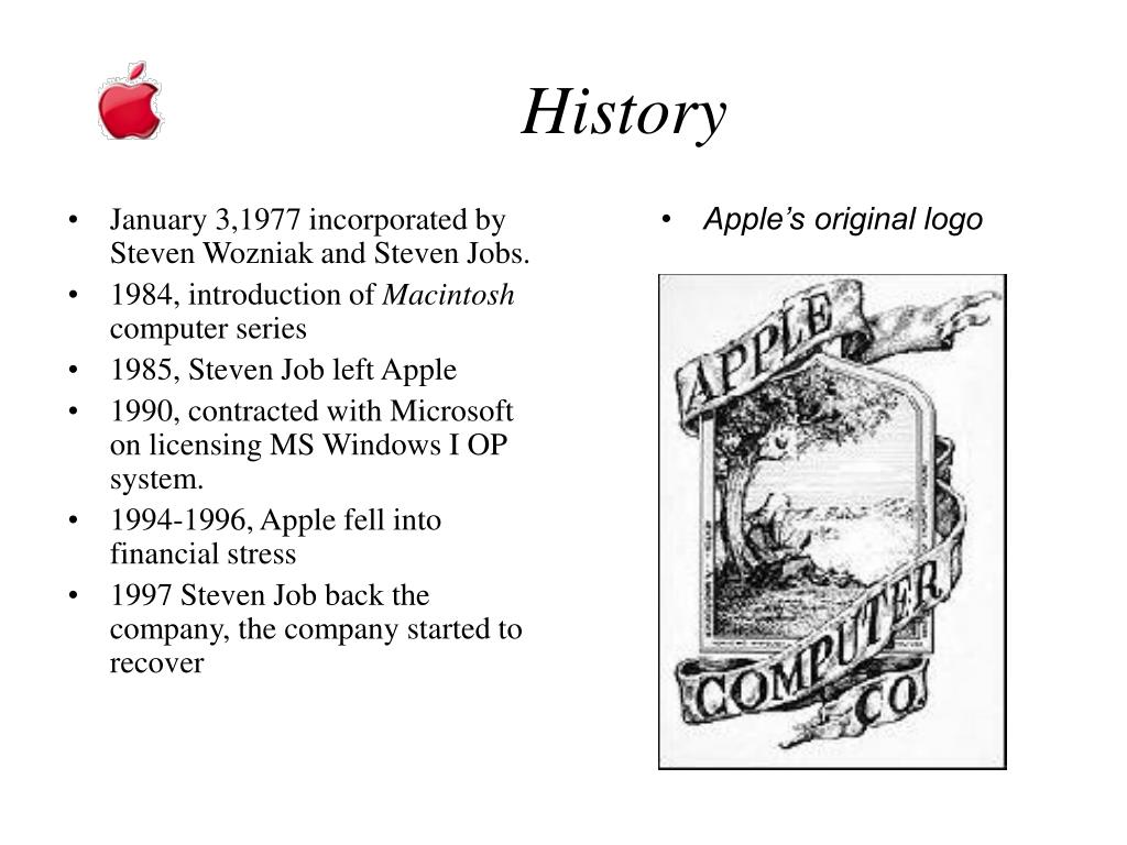 January 3,1977 incorporated by Steven Wozniak and Steven Jobs.