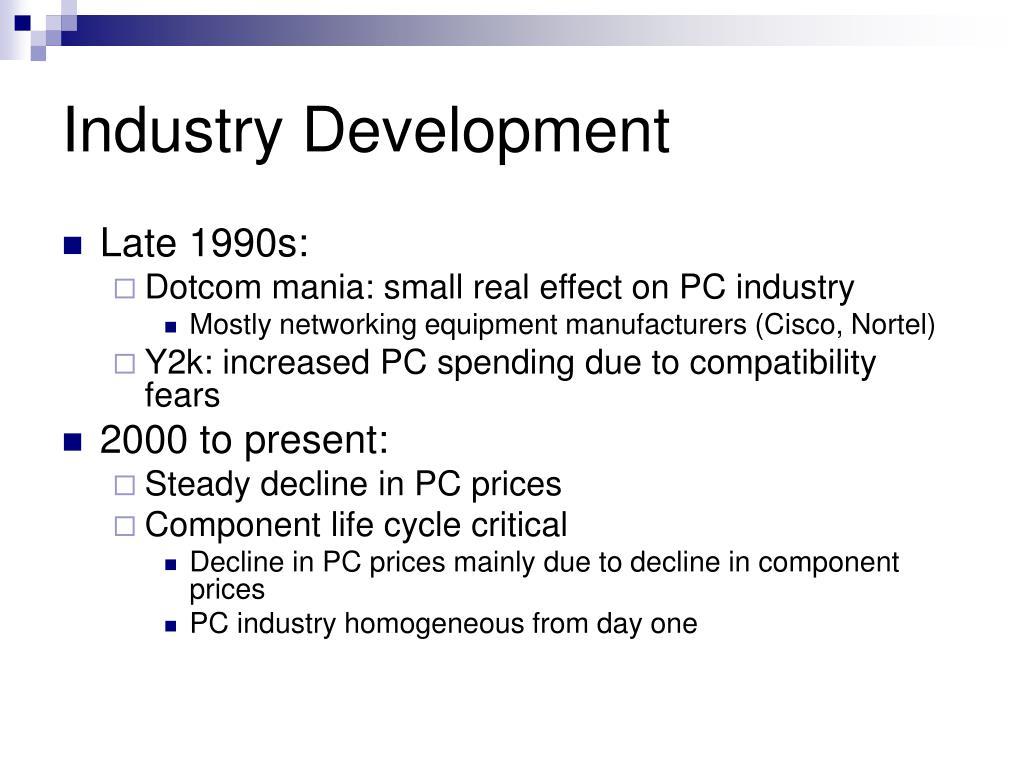 Industry Development