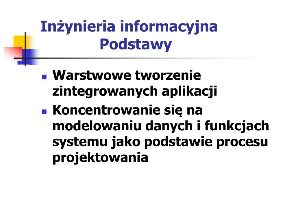 Inżynieria informacyjna