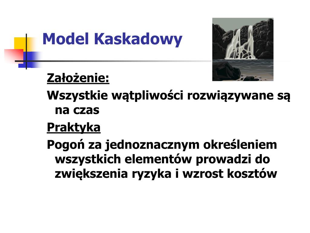 Model Kaskadowy
