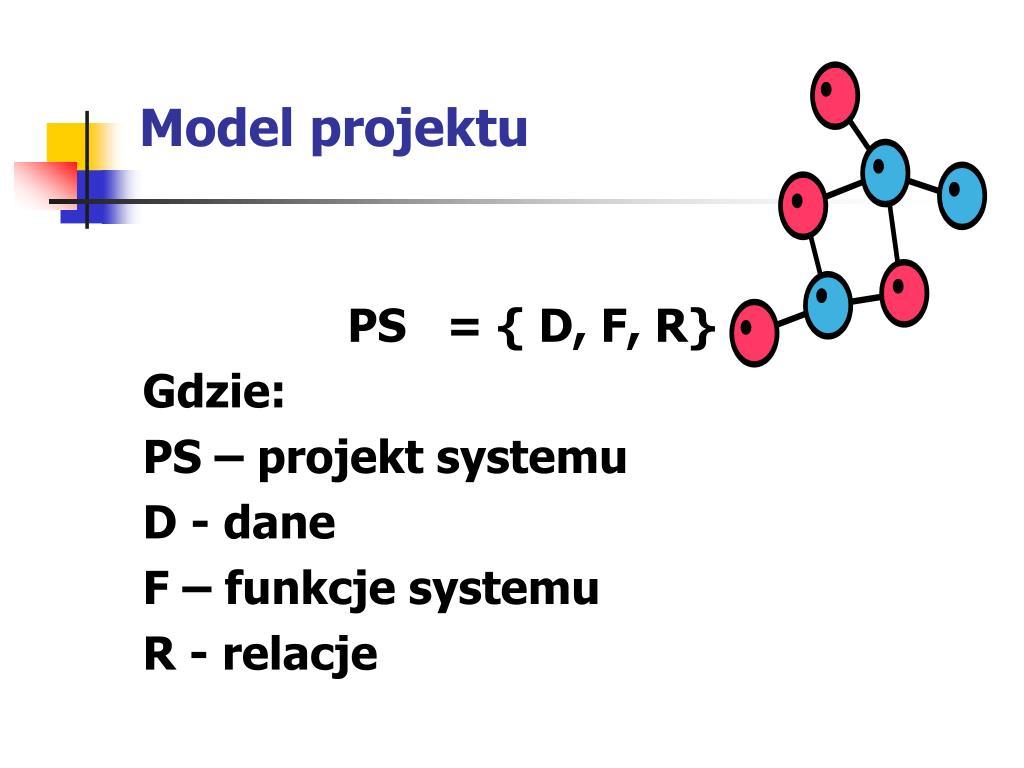 Model projektu