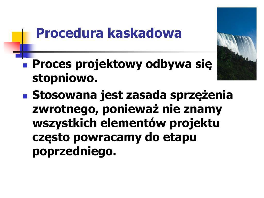 Procedura kaskadowa