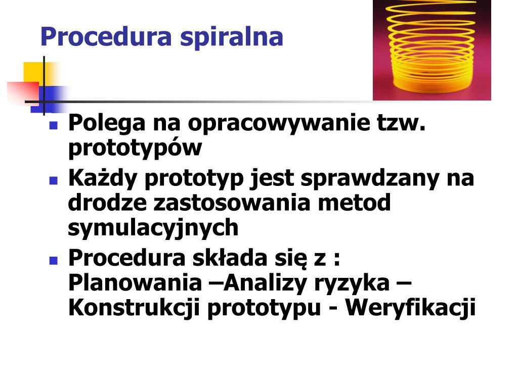 Procedura spiralna