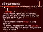 language points23