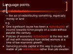 language points27