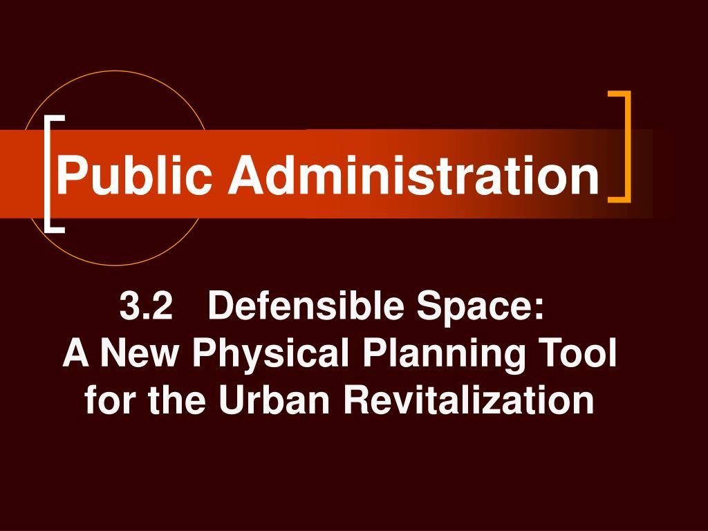 public administration l.