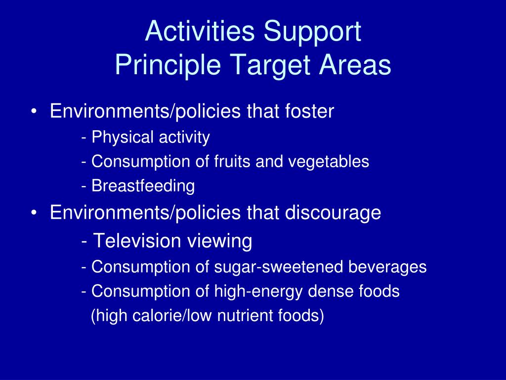 Activities Support