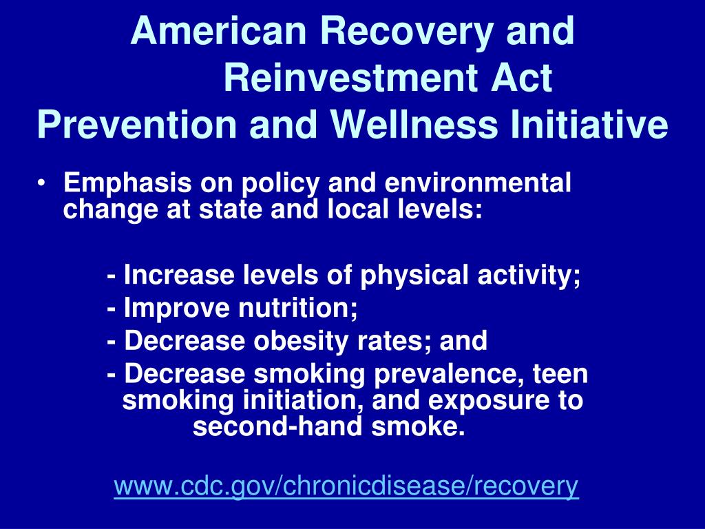 American Recovery and