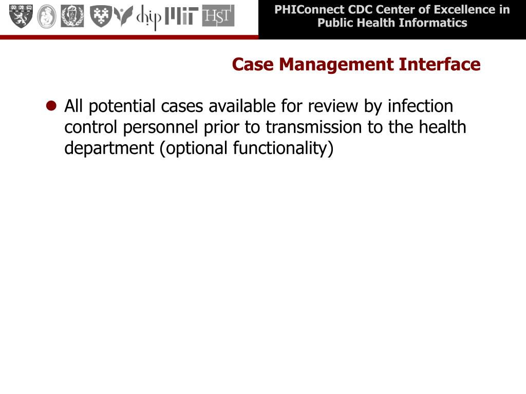 Case Management Interface