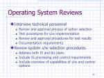 operating system reviews