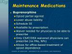 maintenance medications20