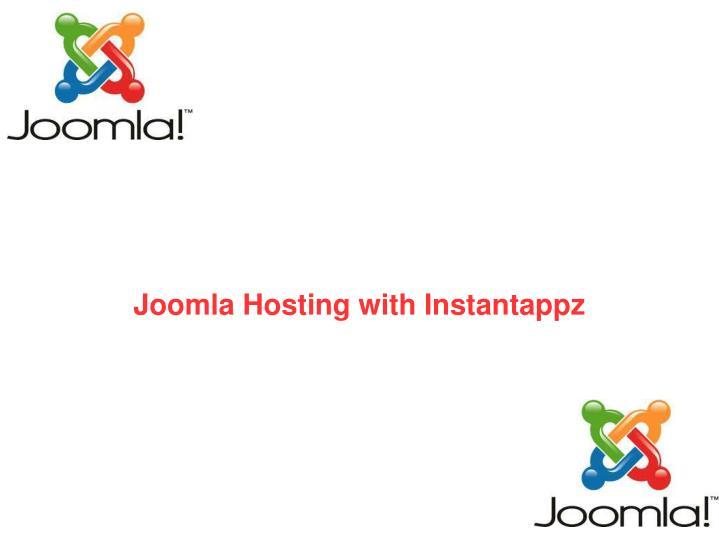 joomla hosting with instantappz n.
