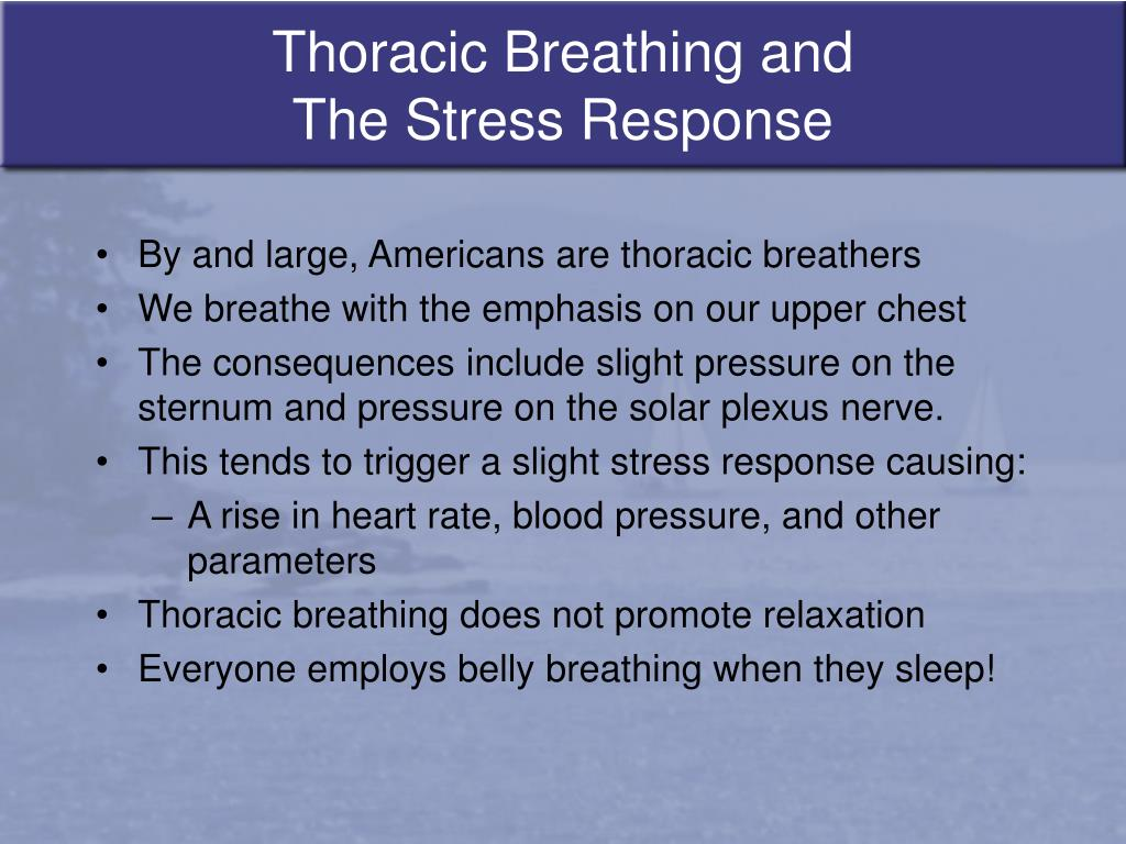 Thoracic Breathing and