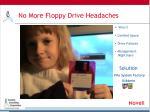 no more floppy drive headaches