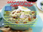 cara membuat dan memasaknya