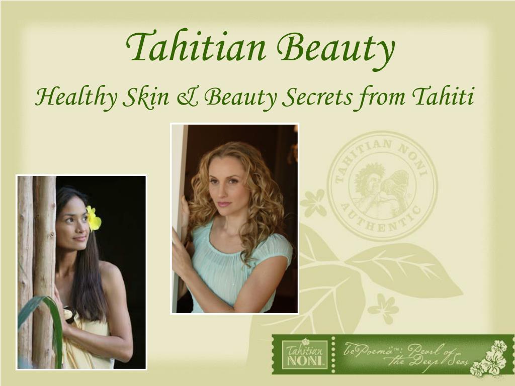 tahitian beauty l.