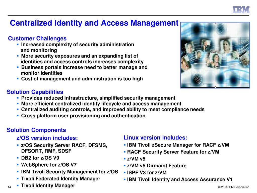 Centralized Identity and Access Management