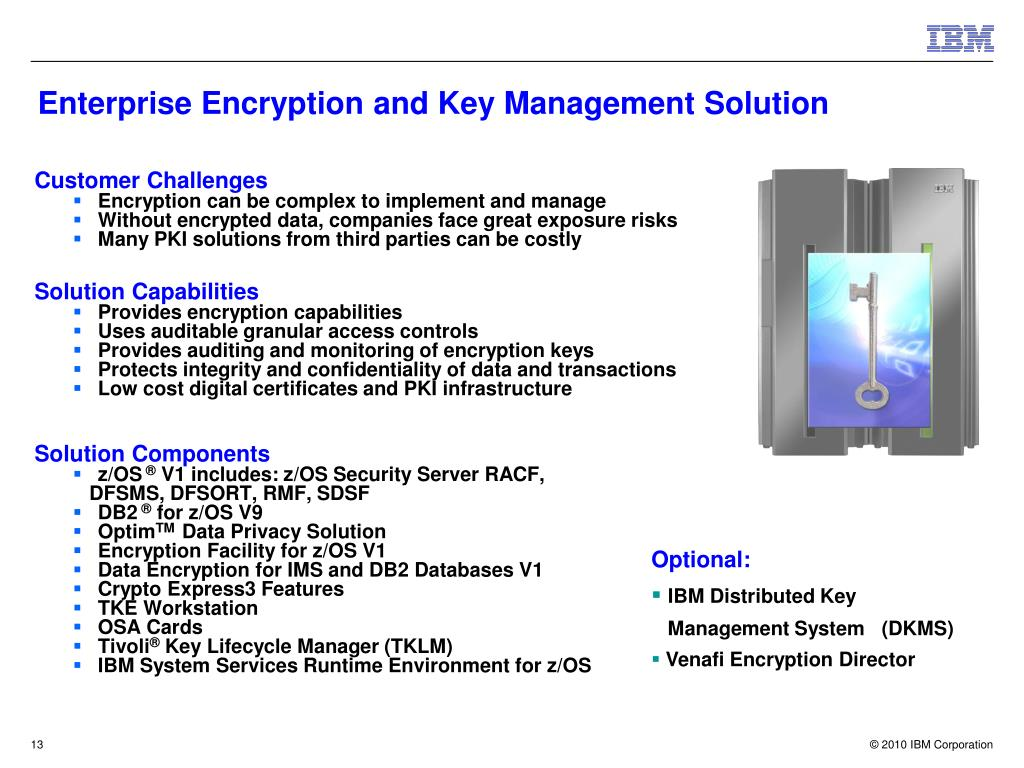 Enterprise Encryption and Key Management Solution