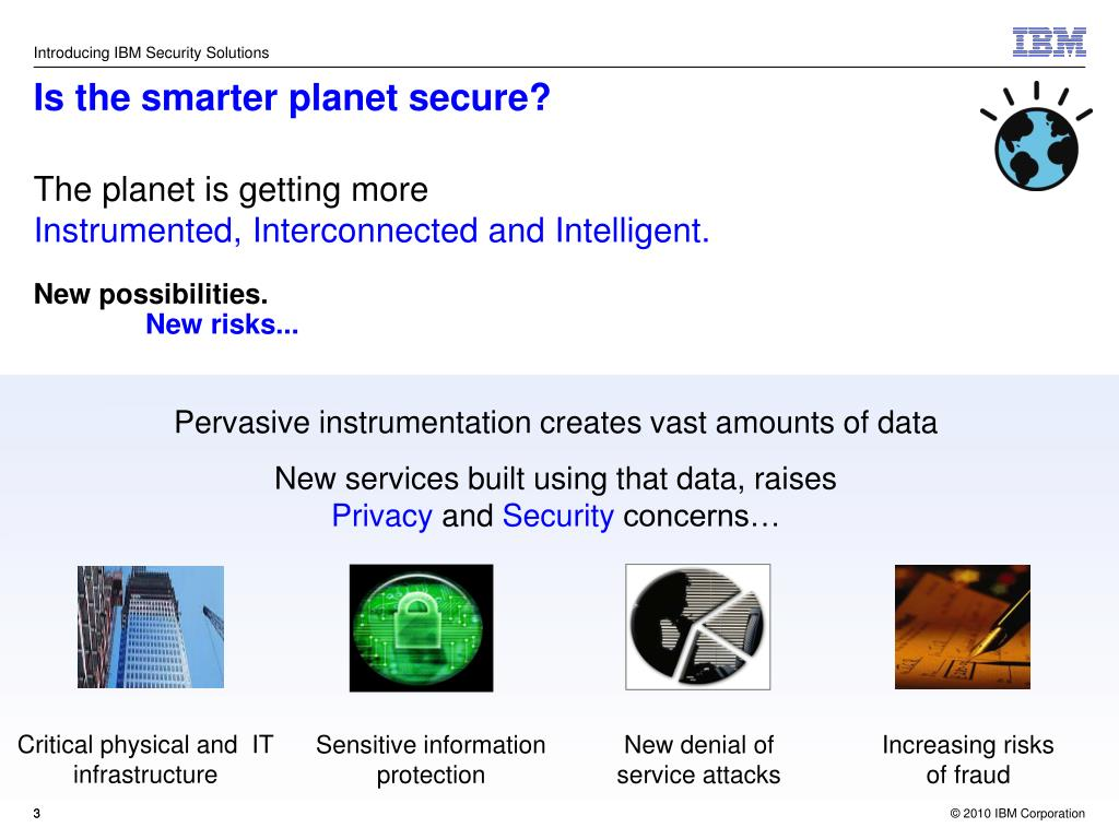 Is the smarter planet secure?