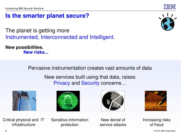 Is the smarter planet secure