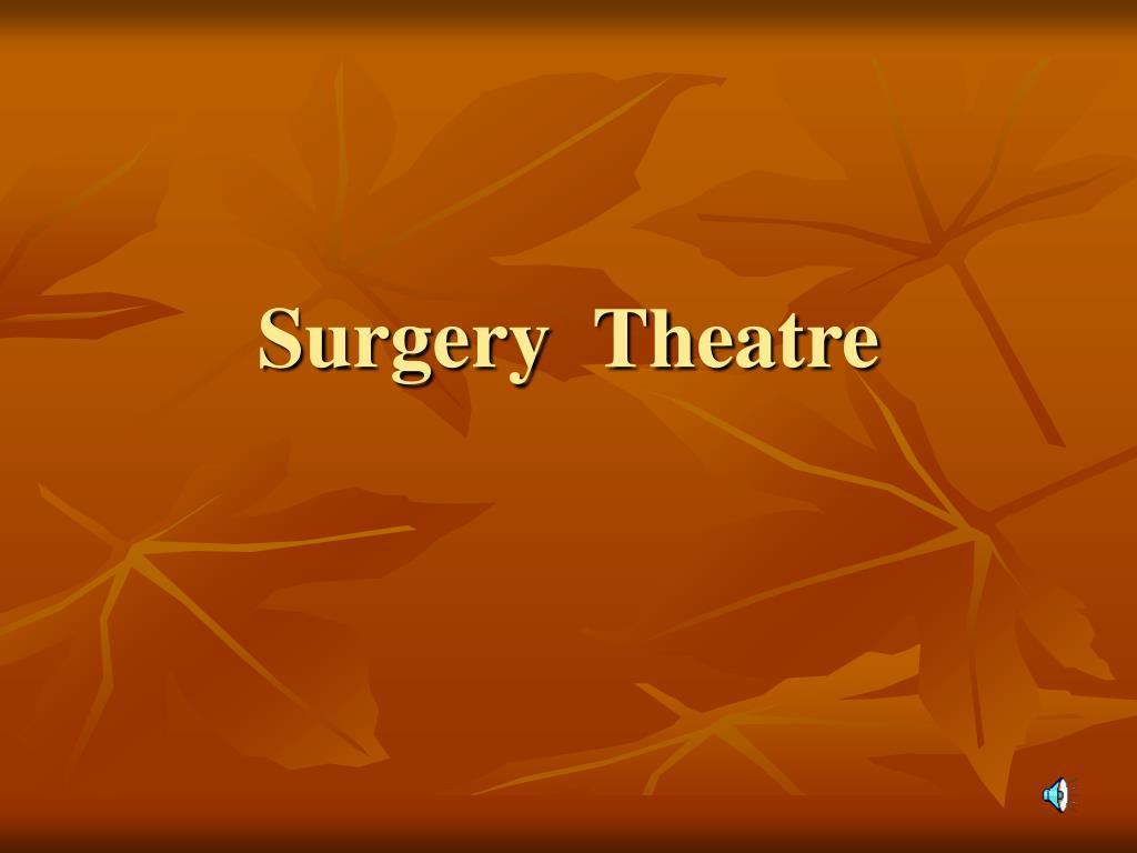 surgery theatre l.