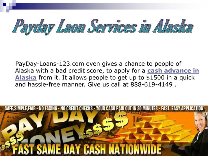 Payday Laon Services in Alaska