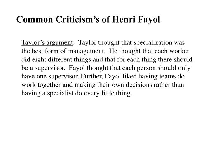 annotated bibliographies henri fayols work relevance The relevance of henri fayol's essay on annotated bibliographies henri fayol's work more about the relevance of henri fayol's four management functions.