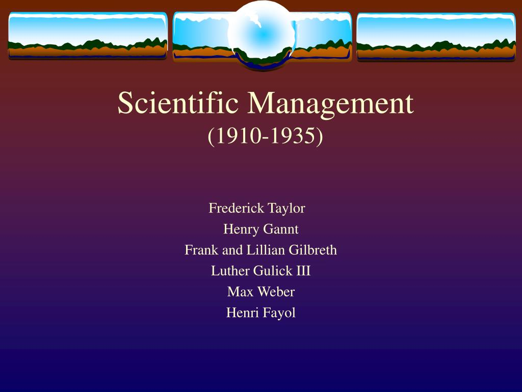 scientific management Learn more about scientific management and taylorism to understand the principles of management for successful production and quality management.