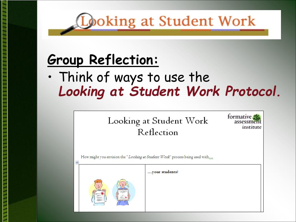 Group Reflection: