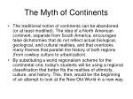 the myth of continents22