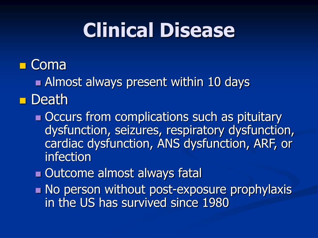 Clinical Disease