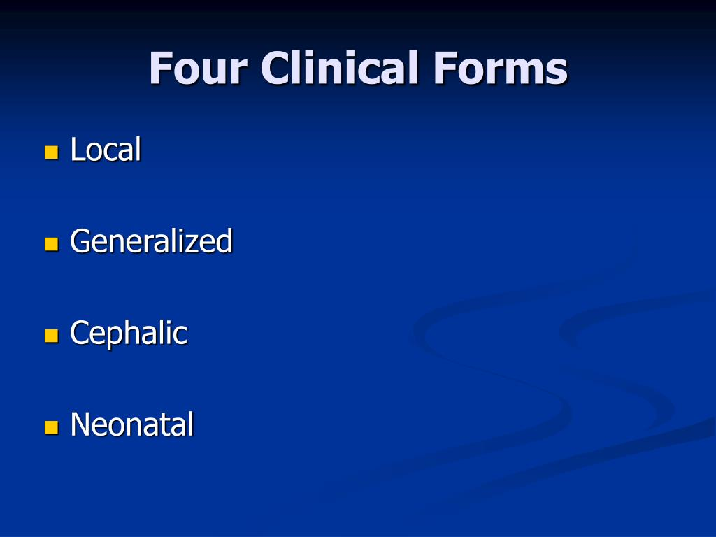 Four Clinical Forms