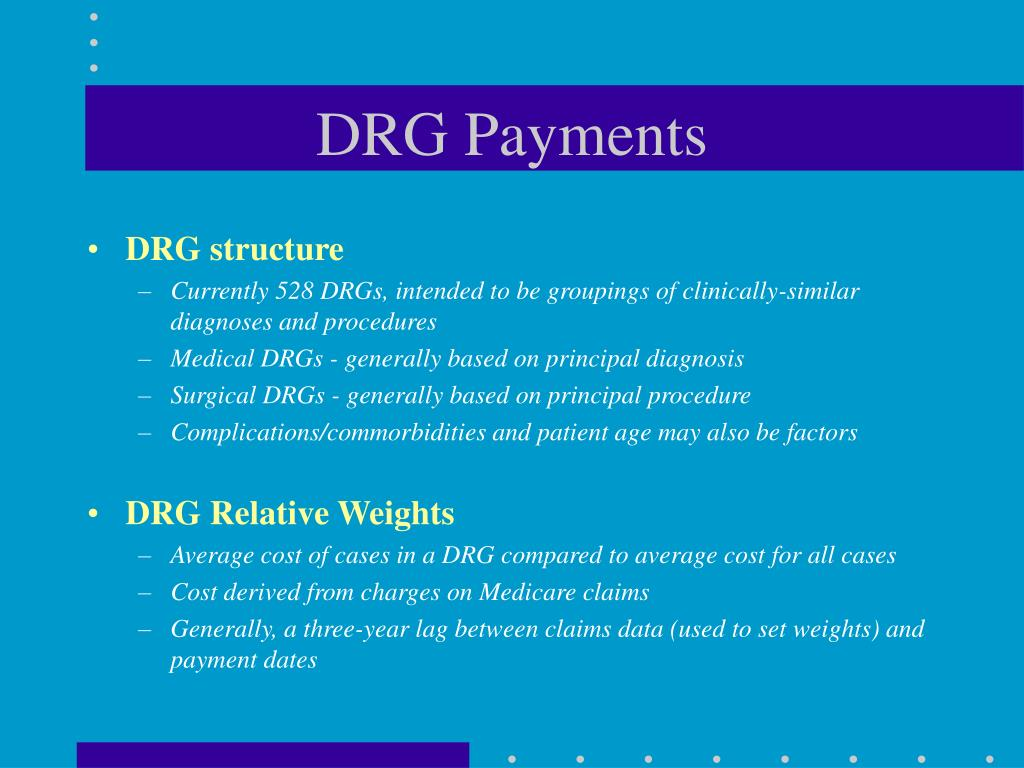 DRG Payments