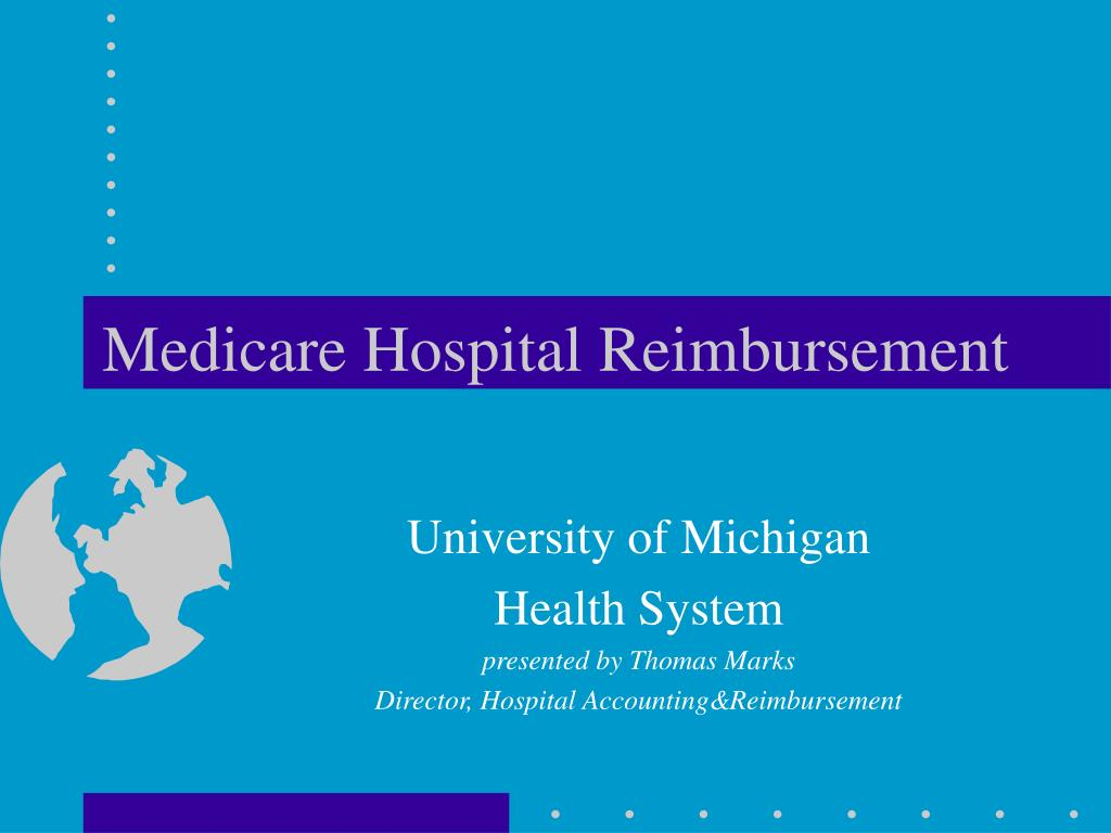 Medicare Hospital Reimbursement