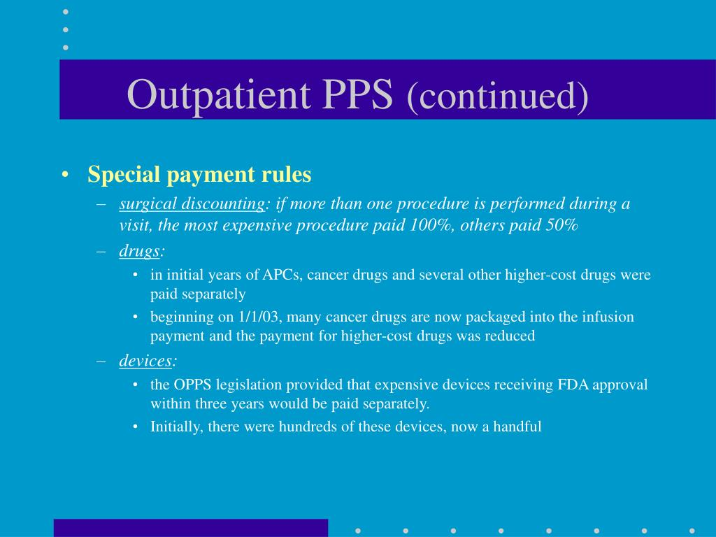 Outpatient PPS