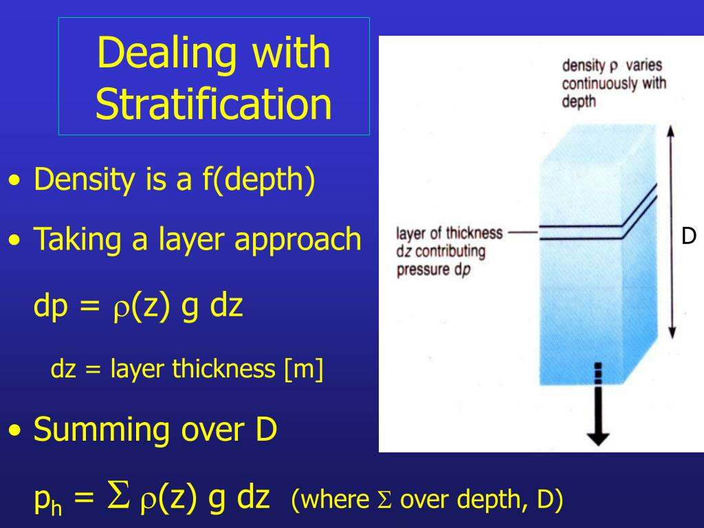 Dealing with Stratification