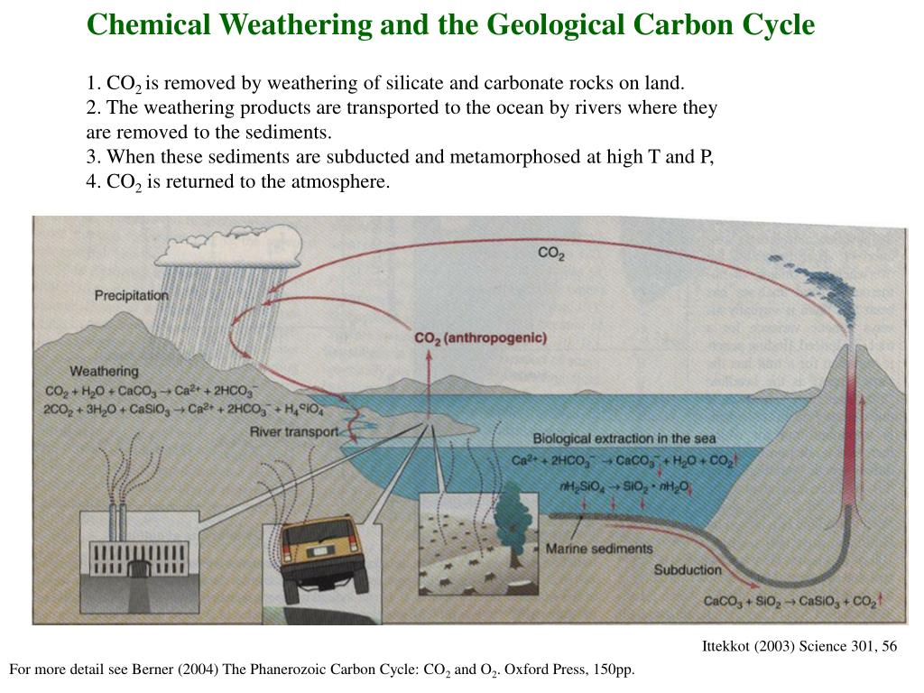Chemical Weathering and the Geological Carbon Cycle