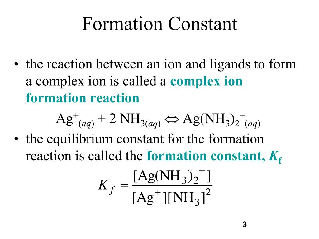 PPT - Complex Ion Formation PowerPoint Presentation - ID:381653