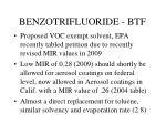 benzotrifluoride btf