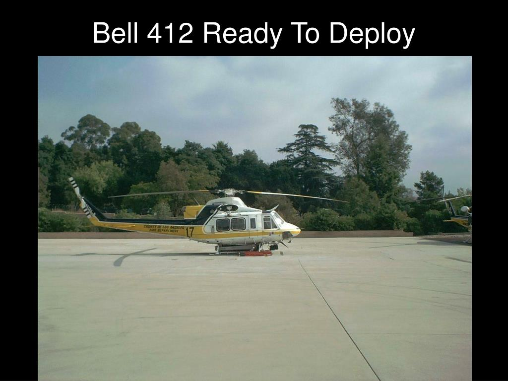 Bell 412 Ready To Deploy