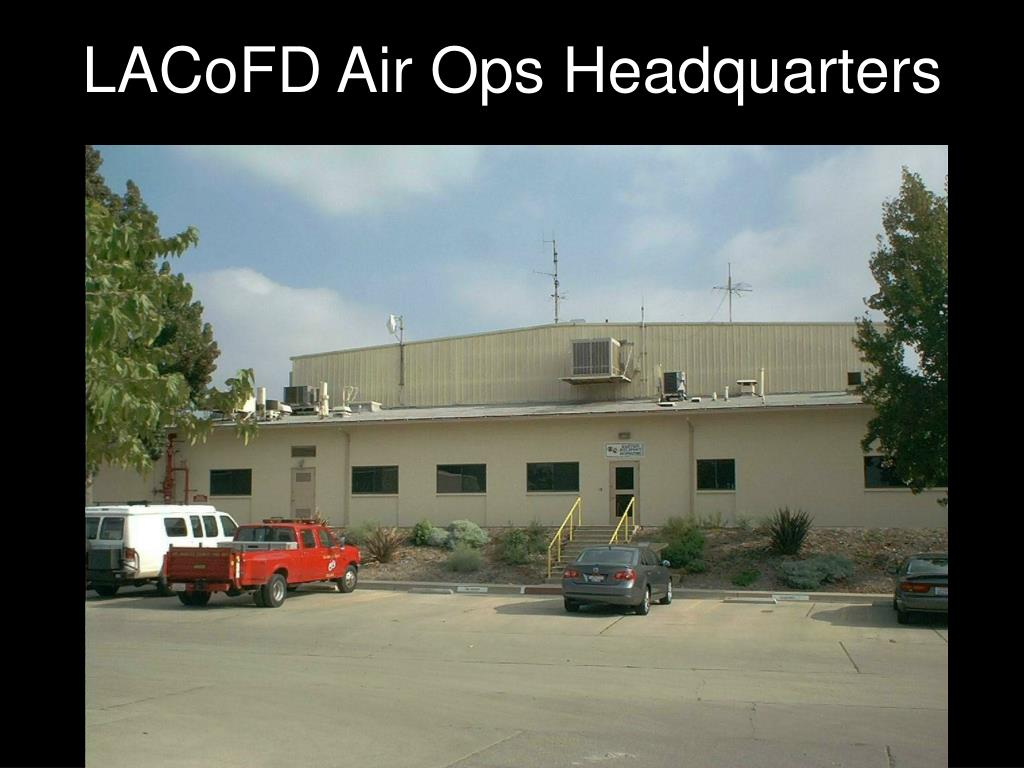 LACoFD Air Ops Headquarters