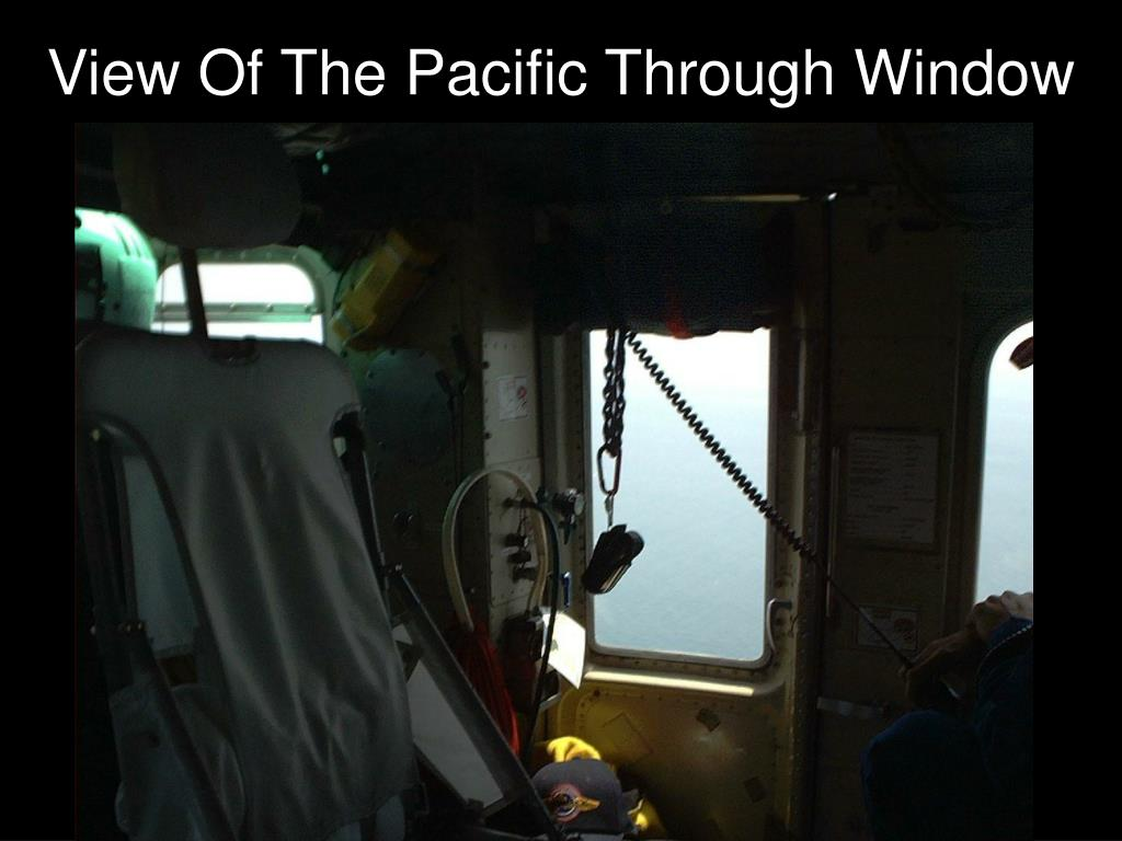 View Of The Pacific Through Window