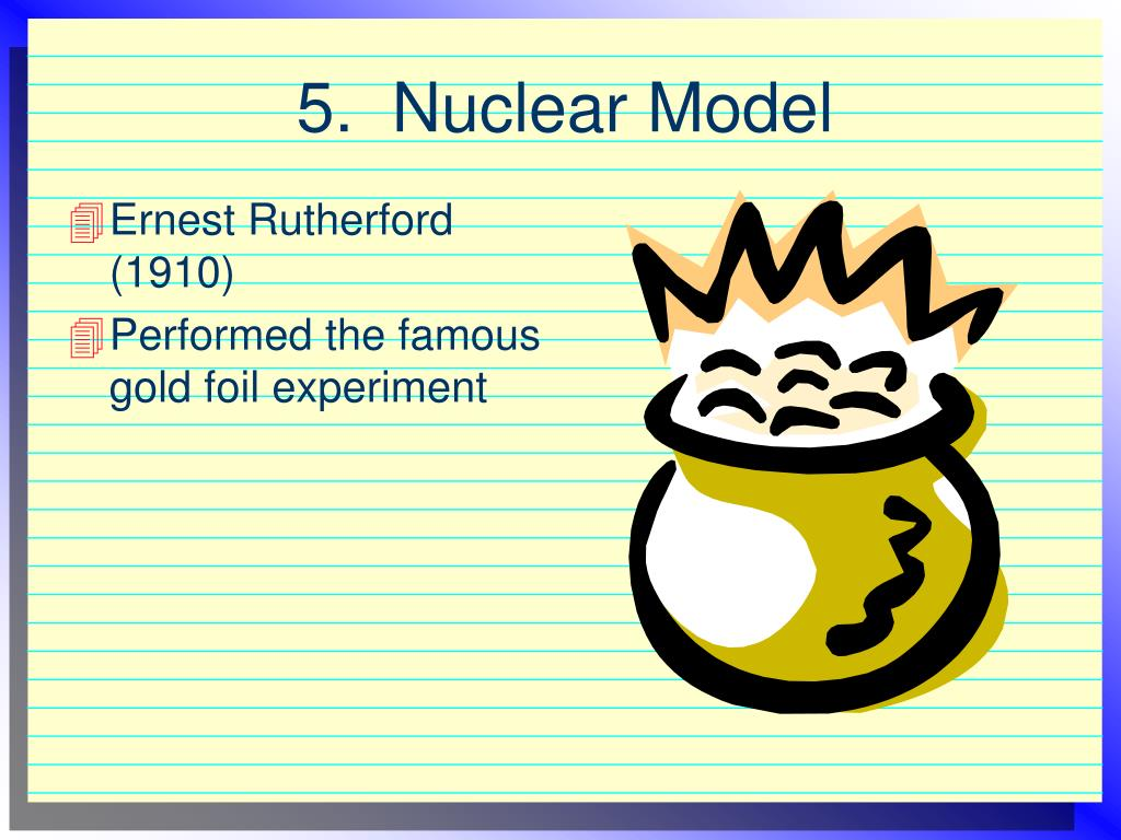 5.  Nuclear Model