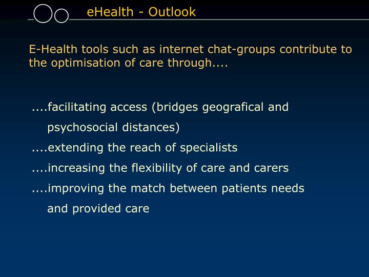 eHealth - Outlook