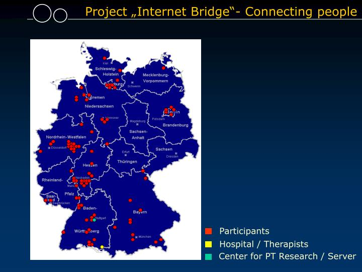 "Project ""Internet Bridge""- Connecting people"