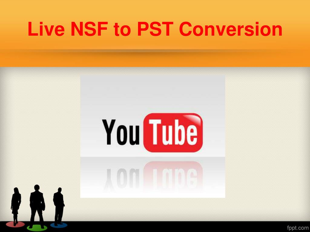 Live NSF to PST Conversion
