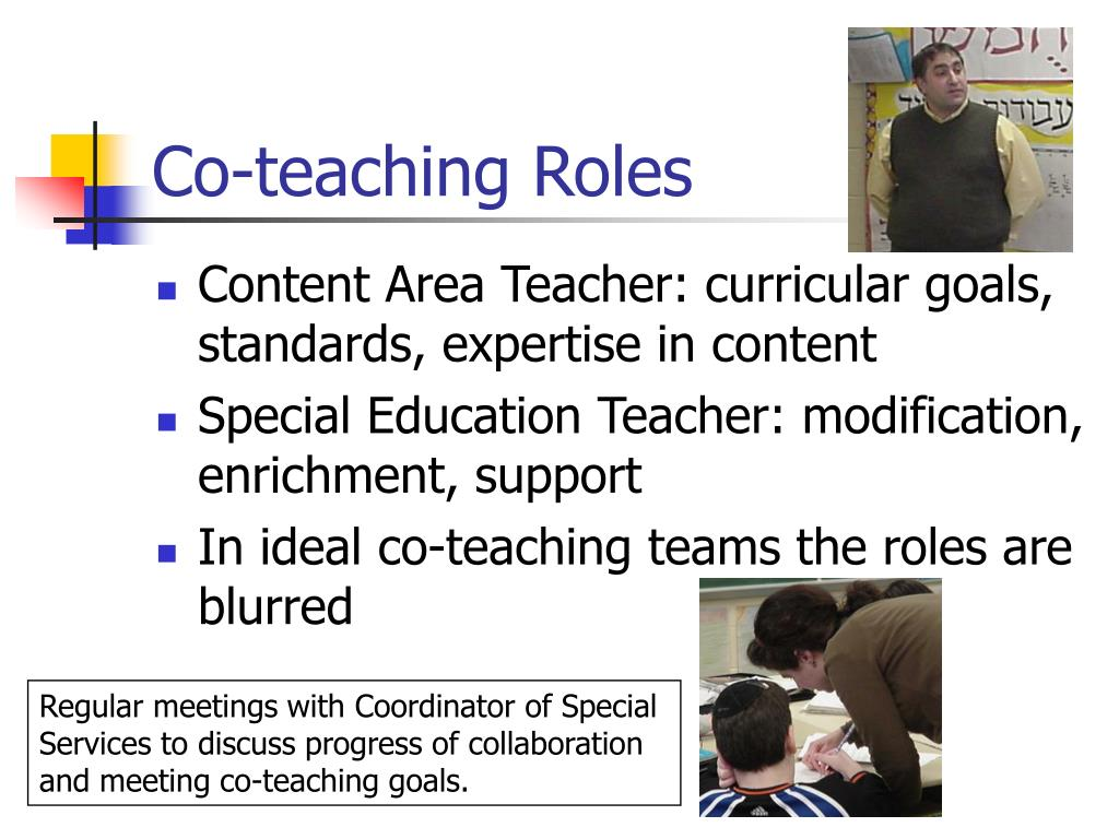 Co-teaching Roles